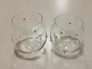 手作り吹きガラス「鬼に金棒」 販売済