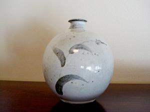 白岩焼 花器 (販売済)