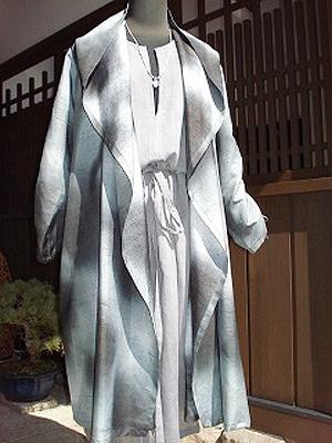 米沢紬コート(販売済)