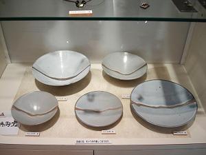 白岩焼 白釉皿 (販売済)
