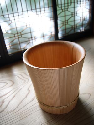 秋田杉桶樽ワインクーラー
