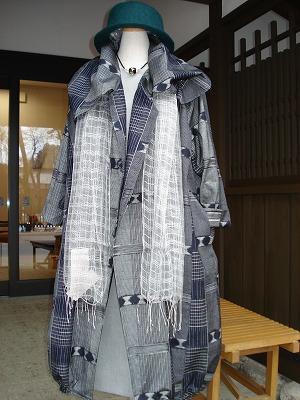 紬コート(No.698)