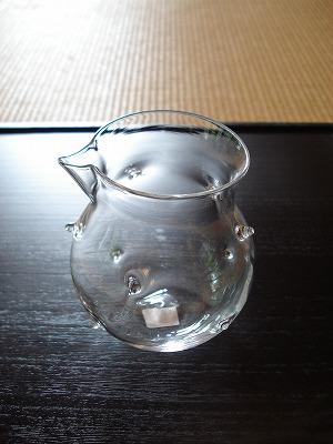 ガラスのとっくり&ぐいのみ