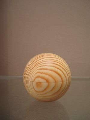木の宝石箱(まる型)