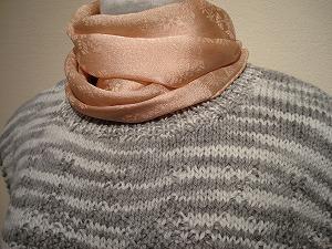炭染め-手編みベスト(在庫切れ)