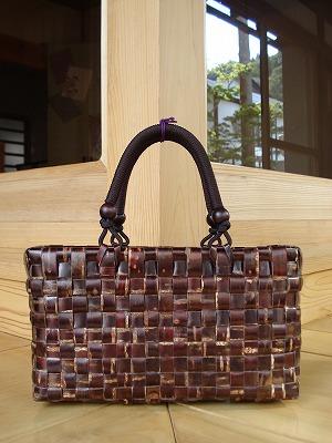 桜皮-CABAバッグ(横型)