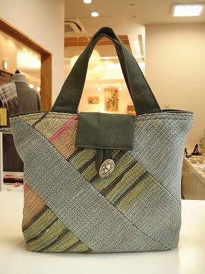 裂き織りバッグ No.189 (販売済)