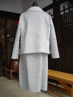 炭染めジャケット&ワンピース
